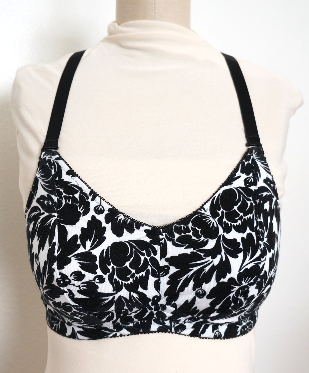 Lotus Pattern with Convertible Straps