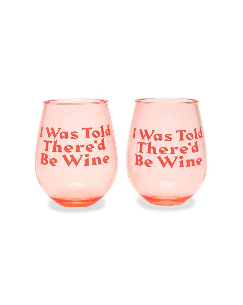 Sassy Wine Glasses - $24 on Ban.do!