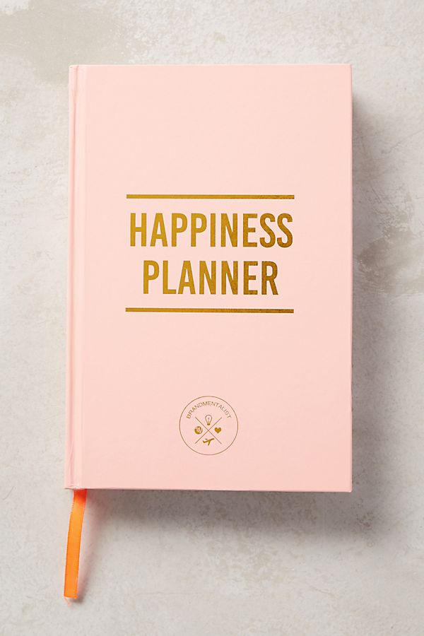 Happiness Planner - $30 on Anthro