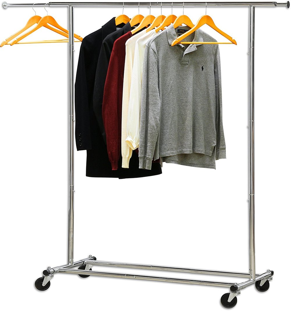 Heavy Duty Clothing Rack - Make sure you buy one that's sturdy like this guy