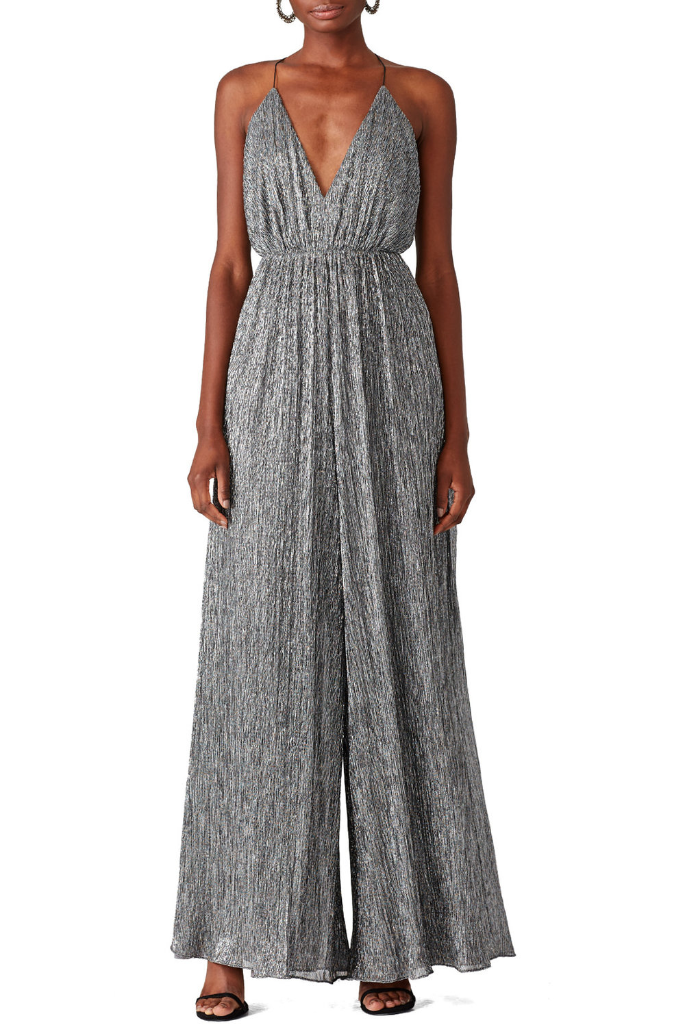 Halston Heritage Antique Jumpsuit - This is a little different than your typical NYE sequin dress and I'm into it!