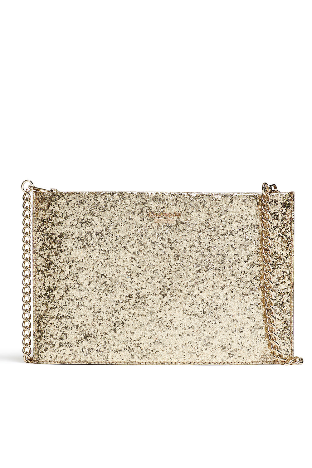 Kate Spade Gold Glitterbug Bag - Great size for just the essentials. It's perfect for a night out on the town!