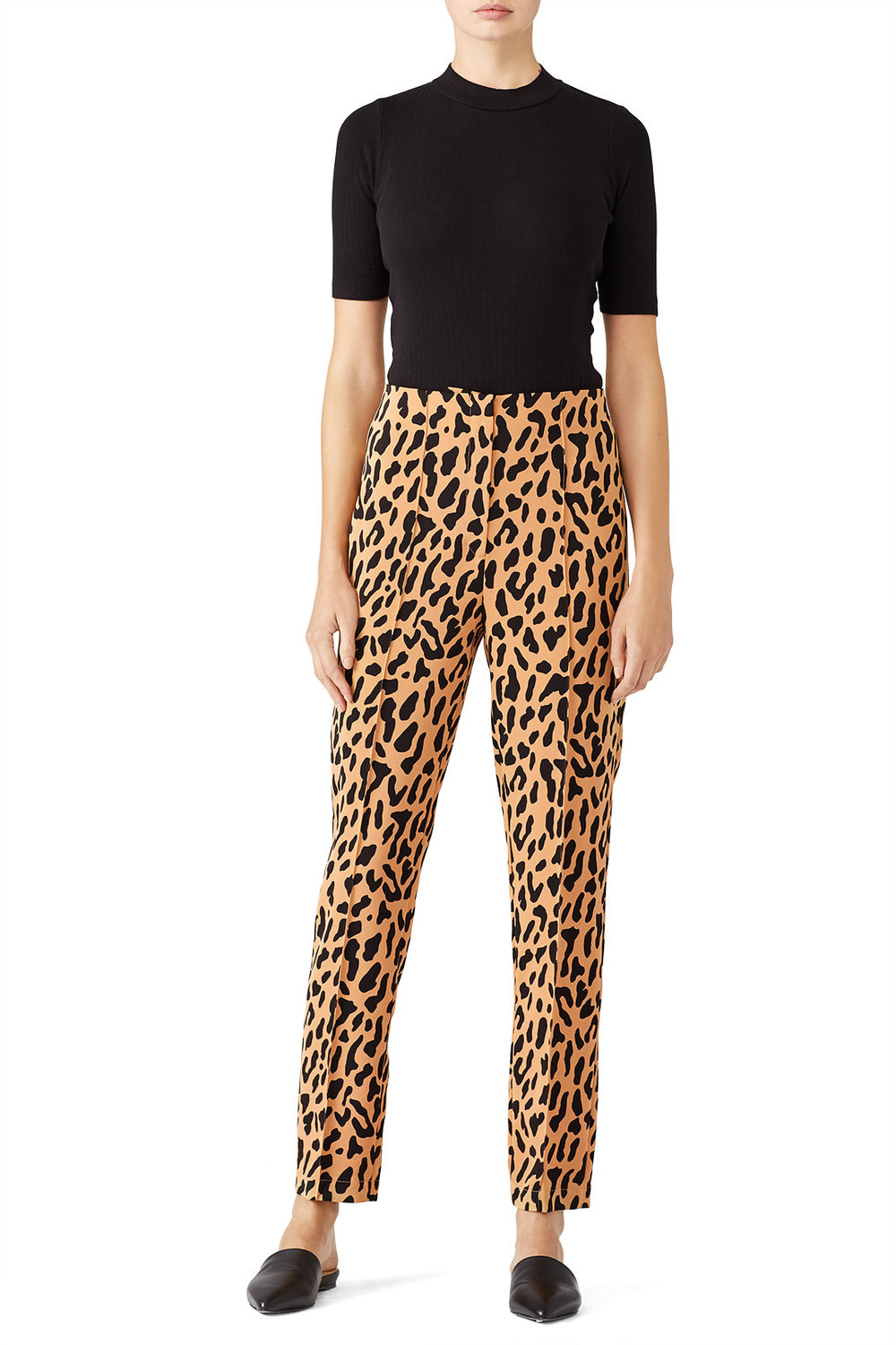 Diane von Furstenberg Leopard Skinny Pant - These scream out on the prowl…
