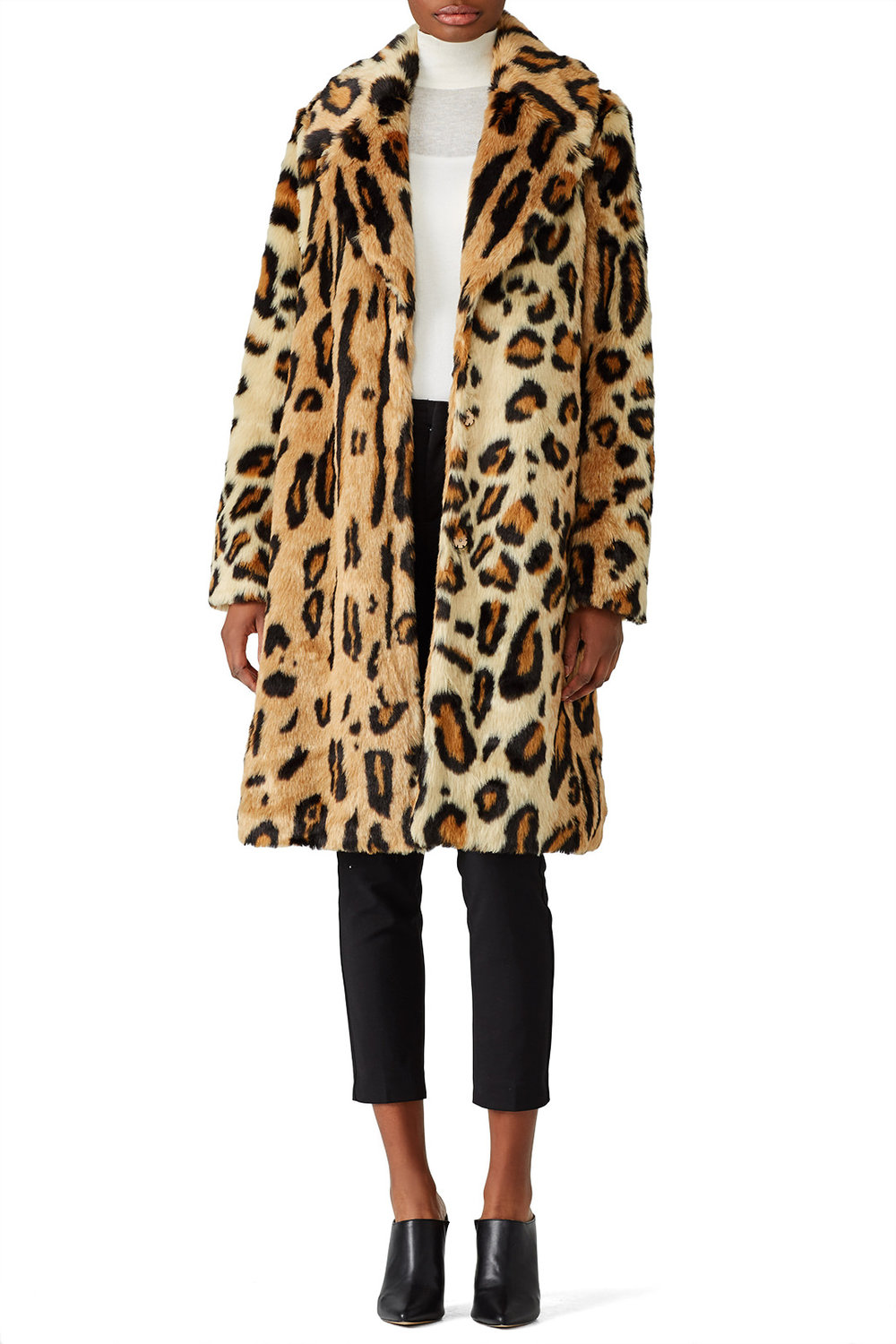 Show Me Your Mumu Miss Cindy Faux Overcoat - LOVE LOVE LOVE! I'm thinking about buying this one when I rent it next!