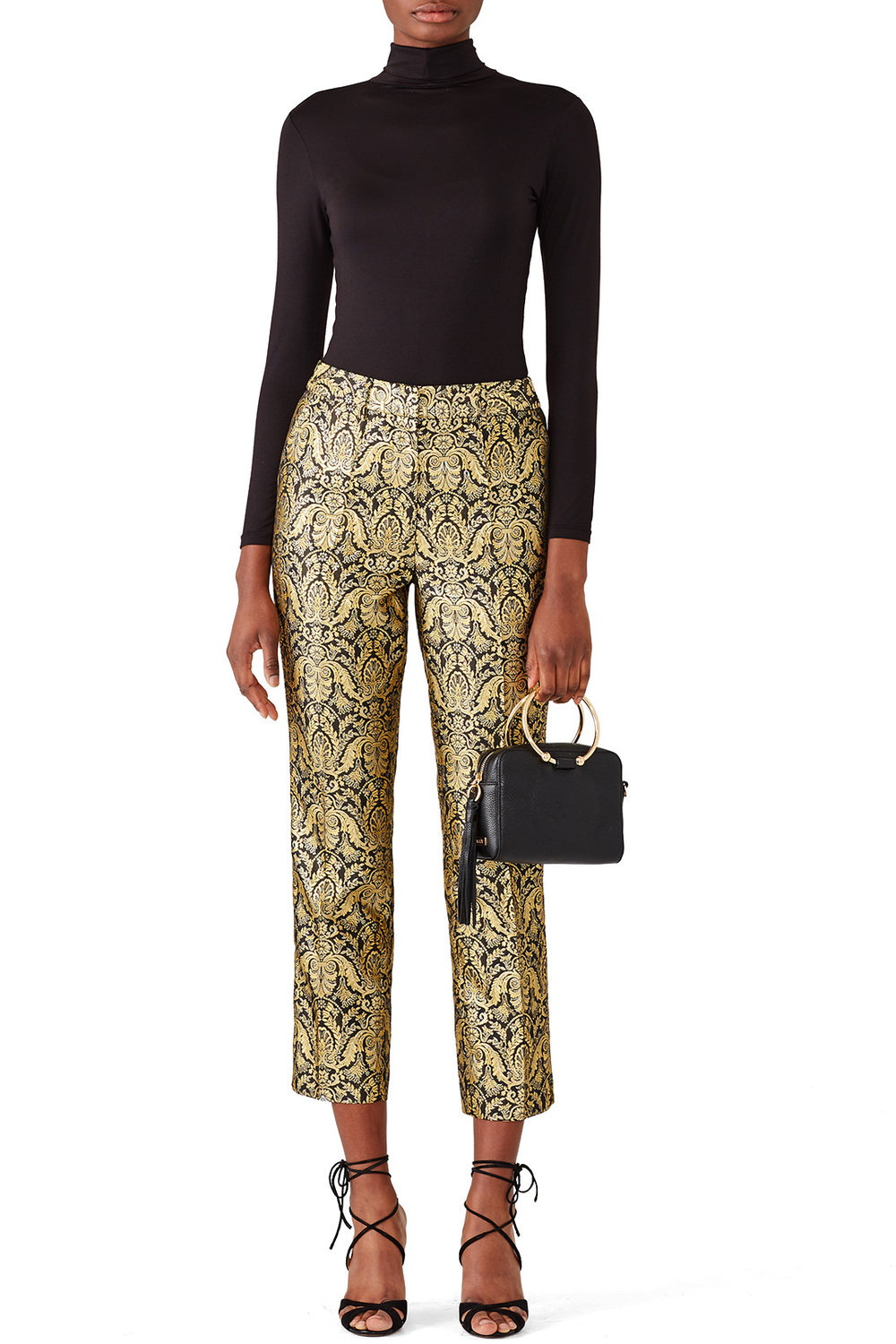 Slate & Willow Orion Cigarette Pant - These scream holiday office party