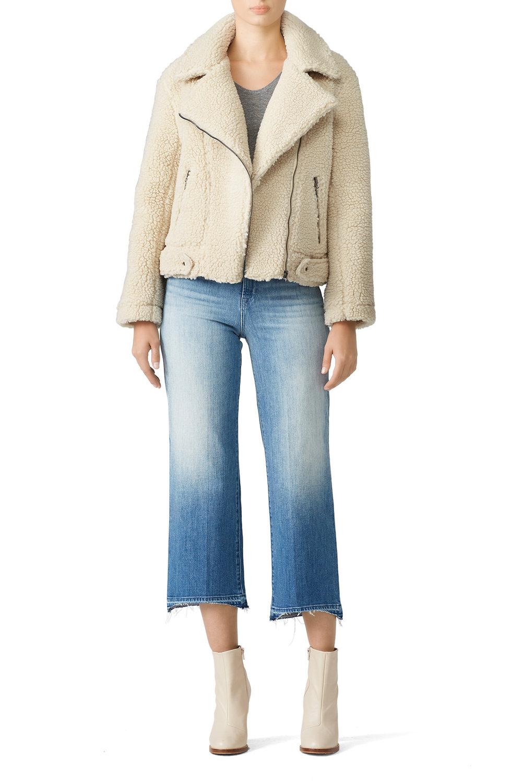ASTR Faux Shearling Brooklyn Jacket - It looks like an actual teddy bear. I'm into it.