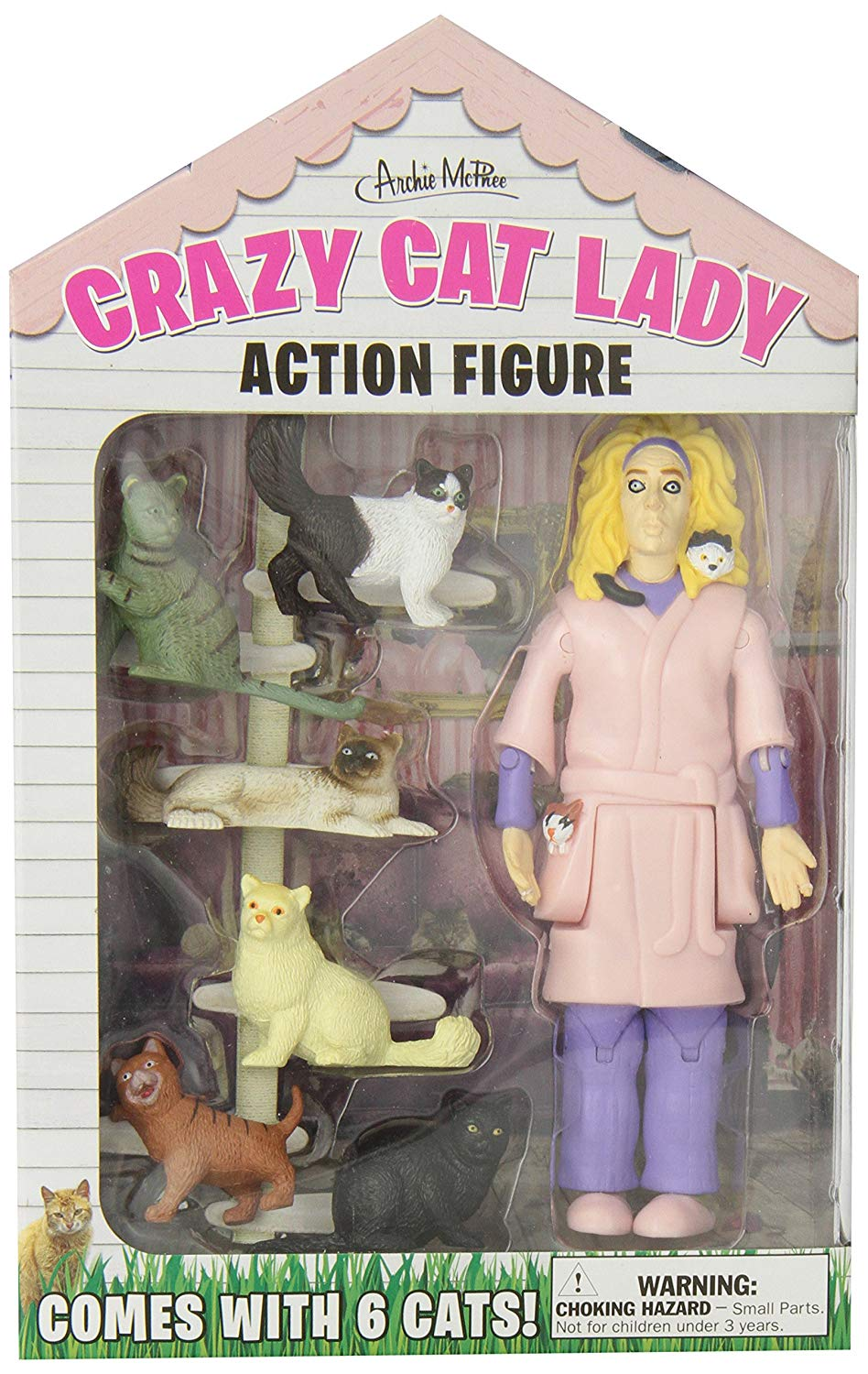 LOOK! They made an action figure of you! - If you want to know what you will look like in 10 years, this is a pretty good representation.