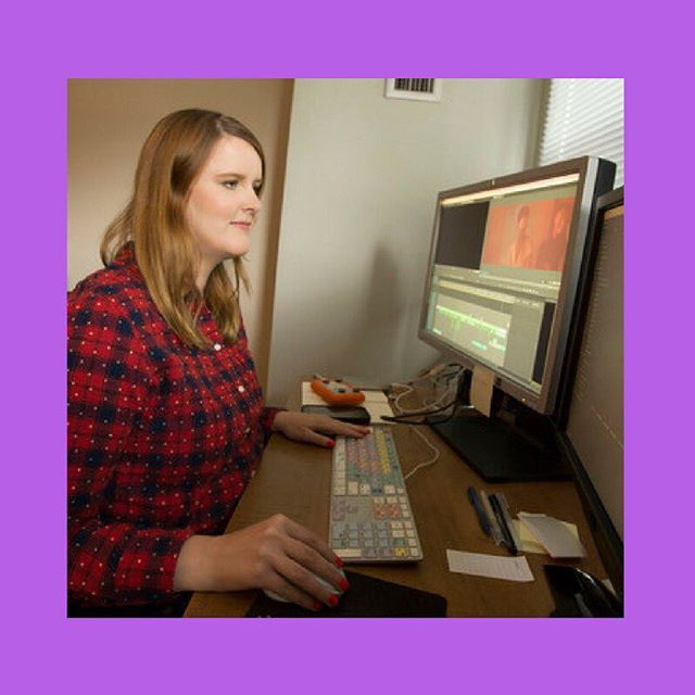 Meet The Team: Simone Smith . Simone is editing the hell out of this series and we're SO lucky to have her on the team. #interns . . . . . . . . . . #interns #post #postproduction #film #toronto #cinematography #editing #soundediting #torontofilm #instahapoy #picoftheday #torontolife