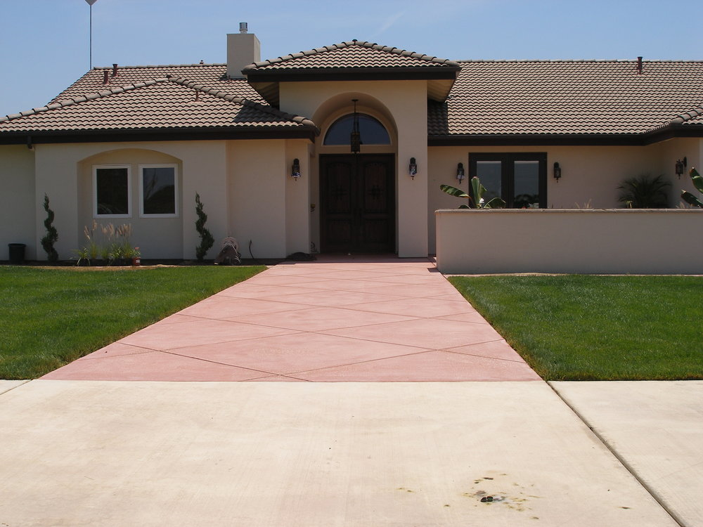 Stained Walkway home.JPG