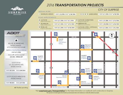2016 Completed Road Projects in District 6 Requested by Council Member Todd Tande*