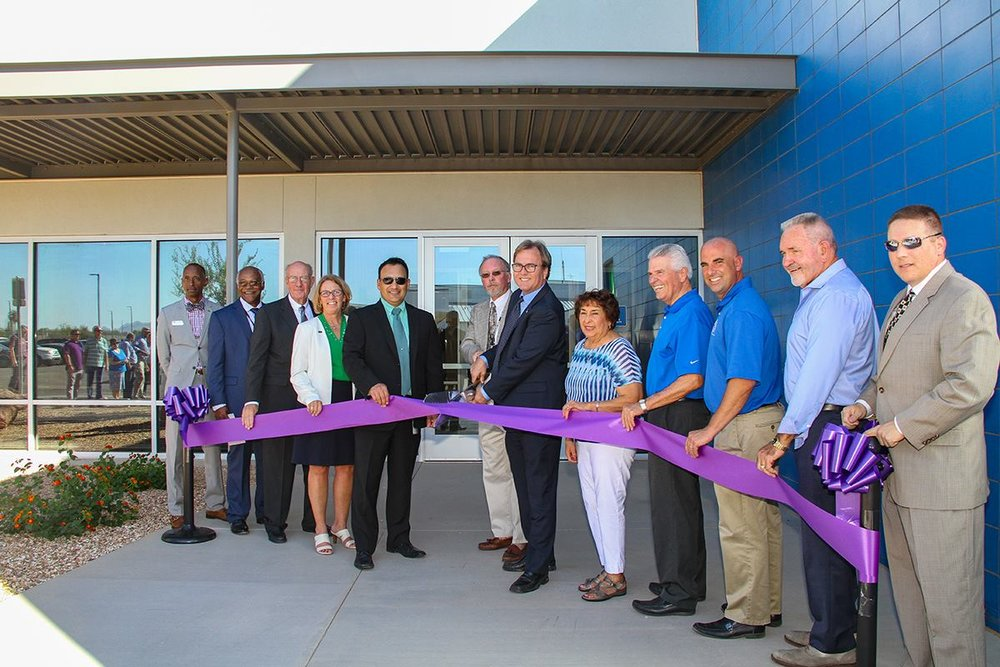 Ribbon Cutting Ceremony for new Gateway College/Surprise Water Treatment Training and Lab Facilities in District 6*