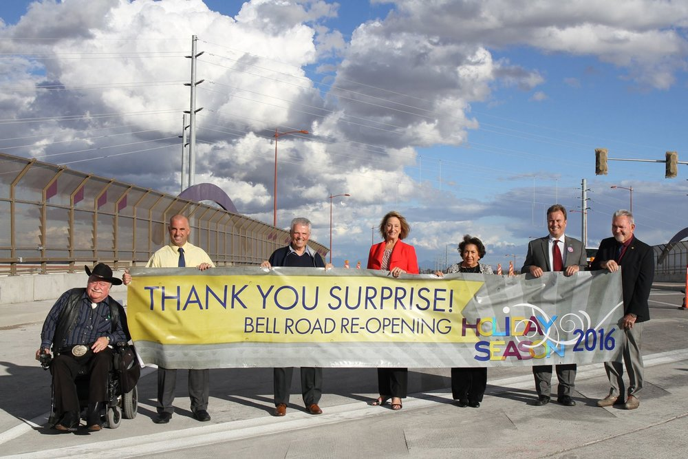 Bell / Grand Bridge Completion Ceremony*
