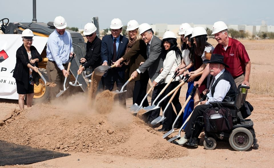 Ground Breaking Ceremony for new 250,000 Sq ft Trimaco Manufacturing Facility in District 6*