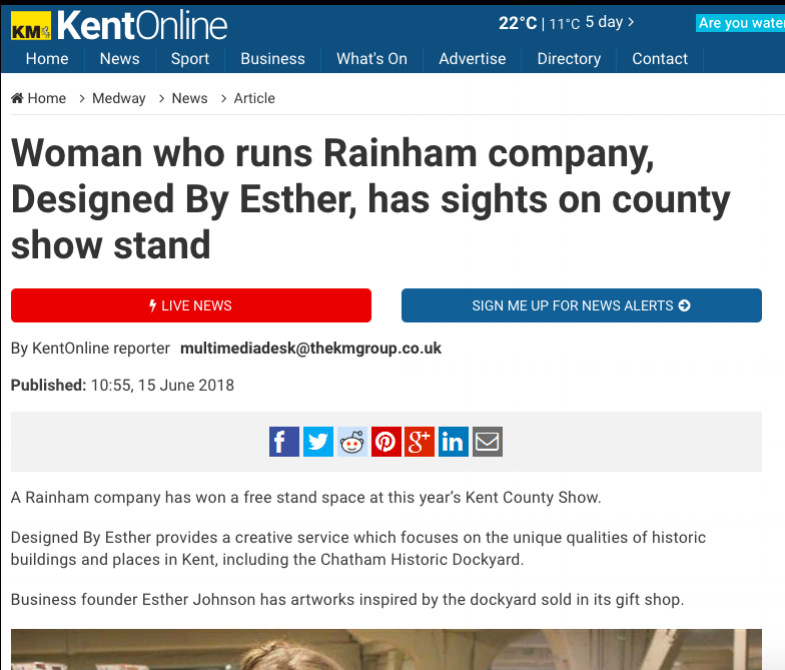 Kent Online - Profile