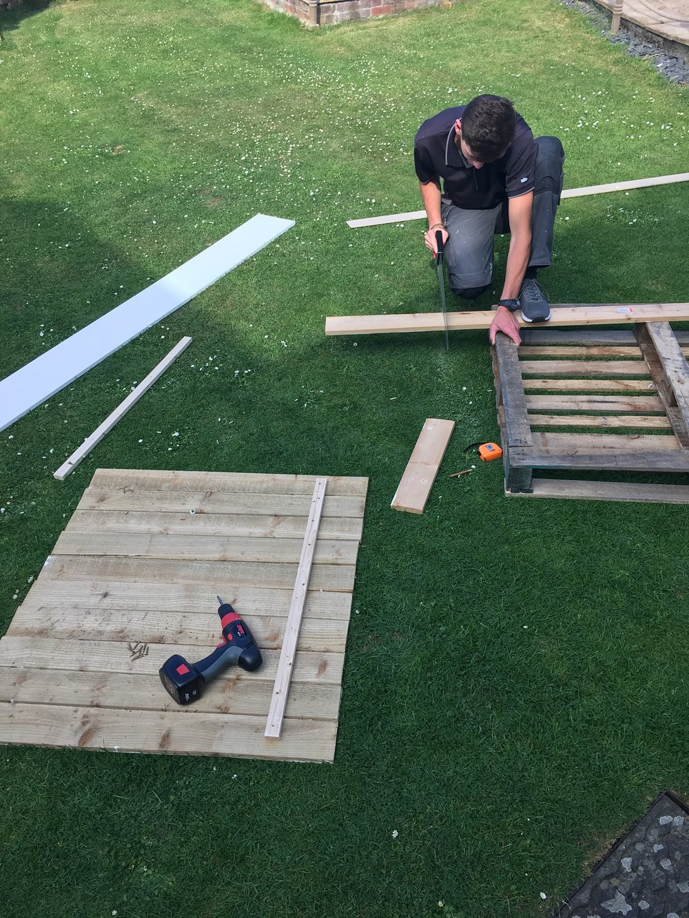 Creating a bespoke till stand for the show