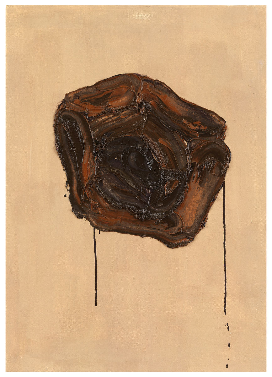 Untitled,1992, Oil on canvas, 28h x 20w in (70h x 50w cm)