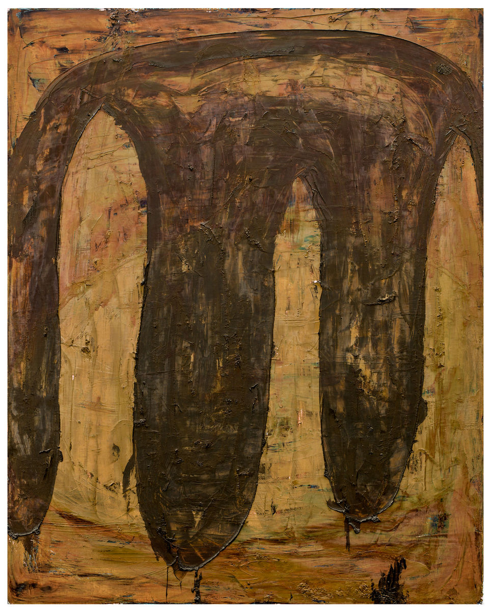 Aus Kolchis II , 1991, Oil on canvas, 79h x 63w in (200h x 160w cm), Morat-Institute, Freiburg in Breisgau