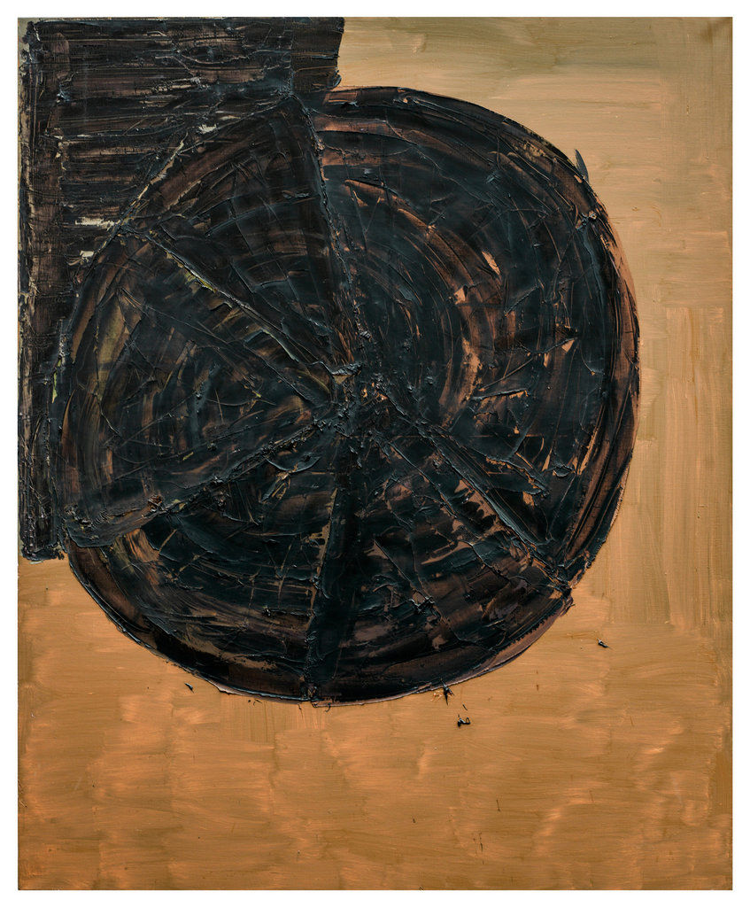 Untitled,1992, Oil on canvas, 87h x 71w in (220h x 180w cm)