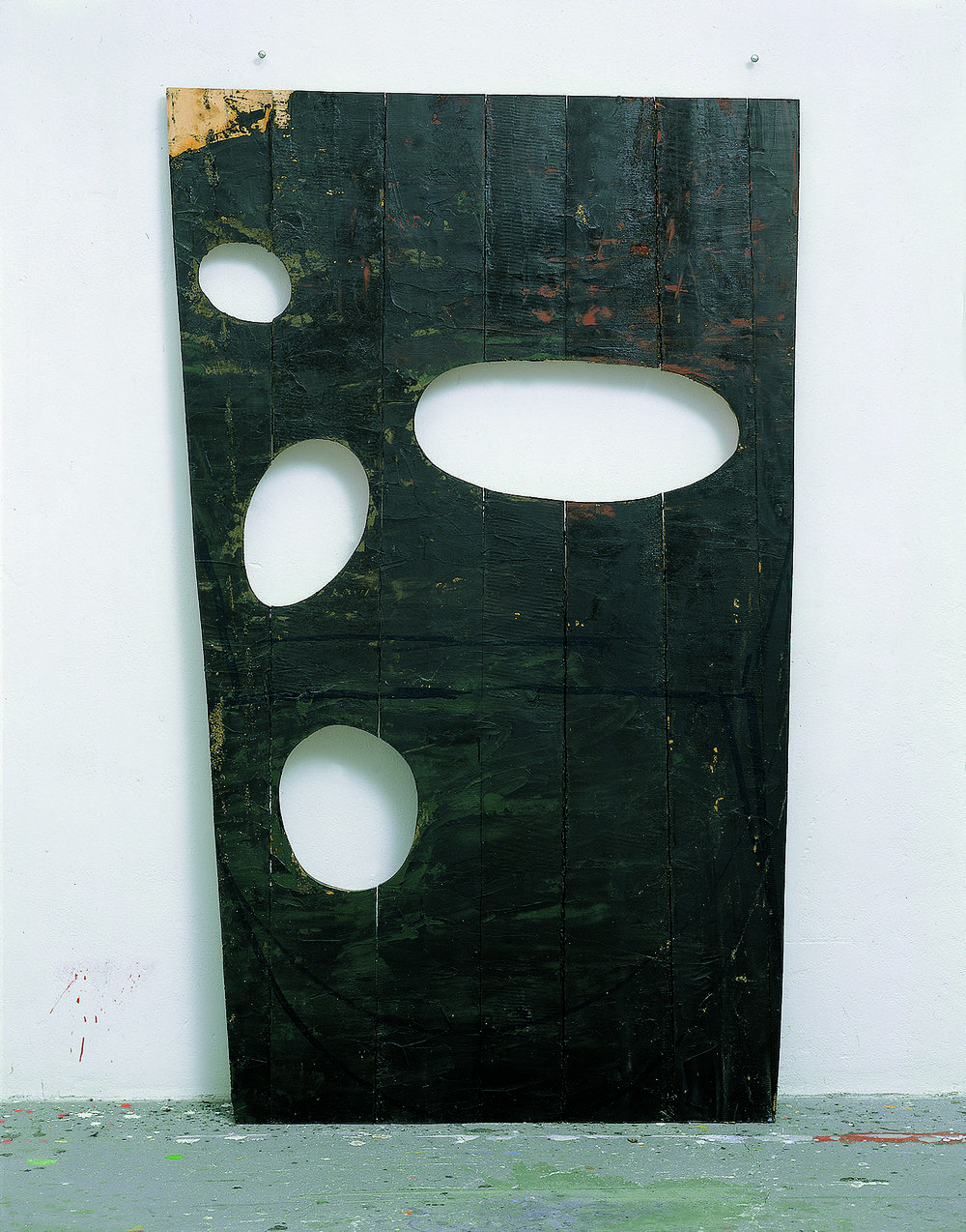 Untitled, 1991, Oil on wood, 80.70h x 50w in (205h x 127w cm)