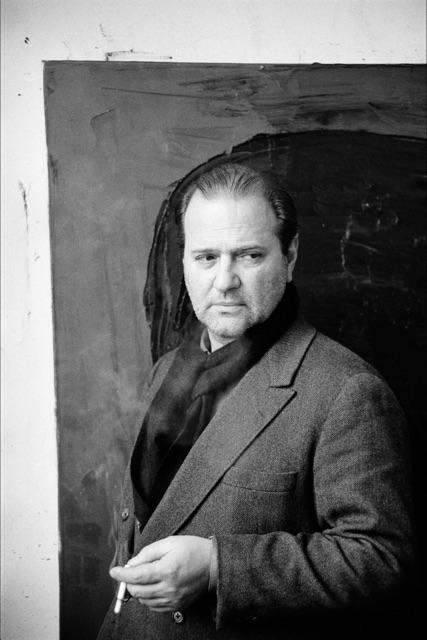 Kurt Kocherscheidt at his studio in Vienna, 1991. Photo: Elfie Semotan