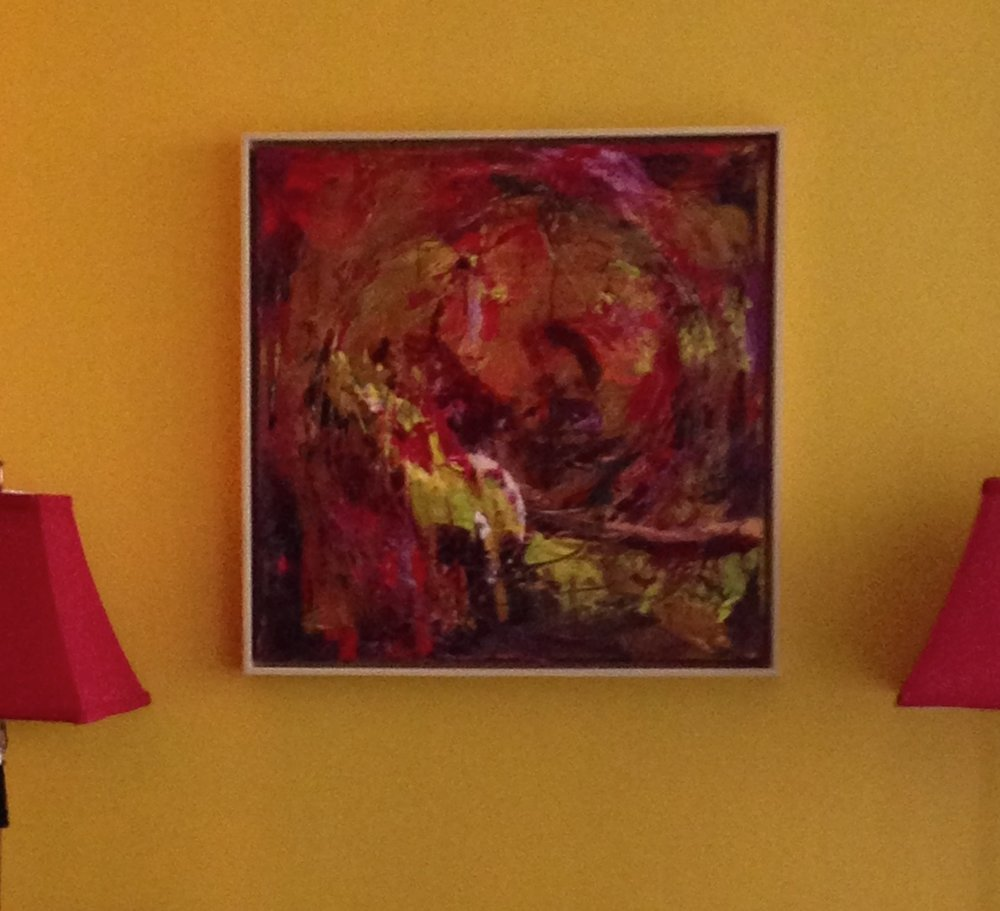 """Cepheus Acrylic - 24""""x24"""" Sold"""