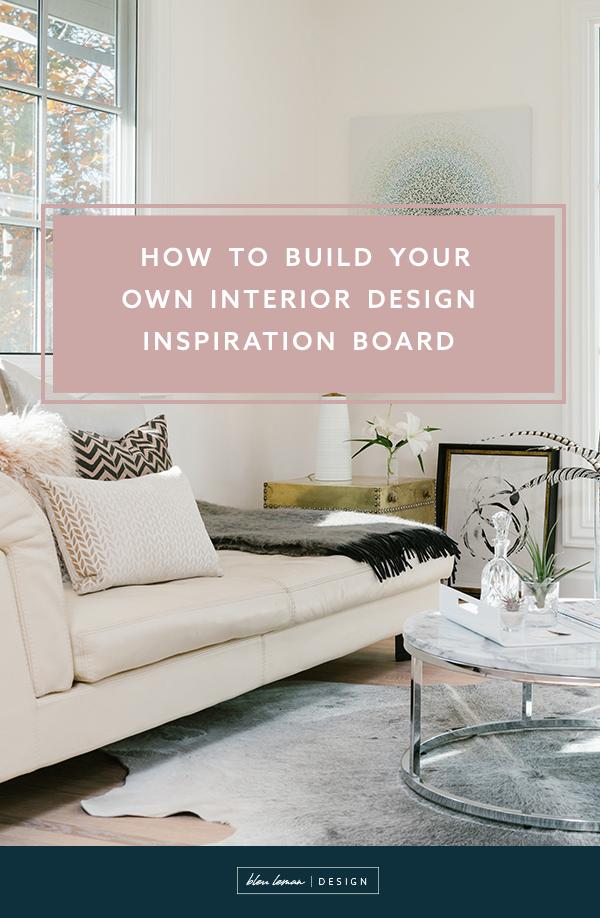 How to Build Your Own Design Inspiration Board \u2014 Bleu Leman