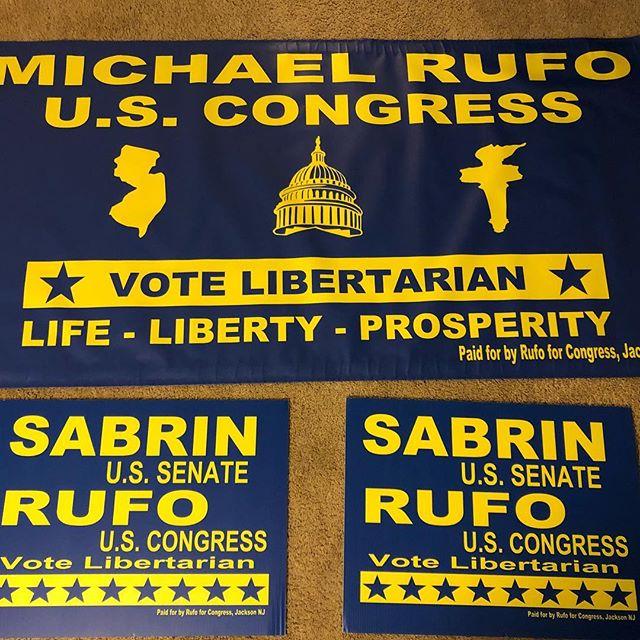They're hheeeerrrreeeee!!! Let's do this!!! #life #liberty #prosperity #libertarian #congress #change #vote #votedifferent #vote3rdparty #voterufo #votesabrin