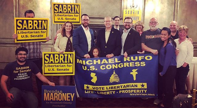 You're support is wonderful. Our message is this most pure! We will fix Congress and bring Life, Liberty and Happiness all the way back down to the individual!! #life #liberty #prosperity #freedom #libertarian #lp18