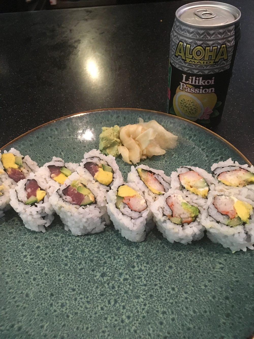 Spicy Tuna and California