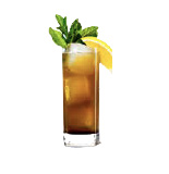 WITCH DOCTOR  Fill a highball with ice. Add 3/4 oz. each Boyd & Blair Potato Vodka® and BALSAM AMARO®. Top with tonic, garnish with lemon & mint.