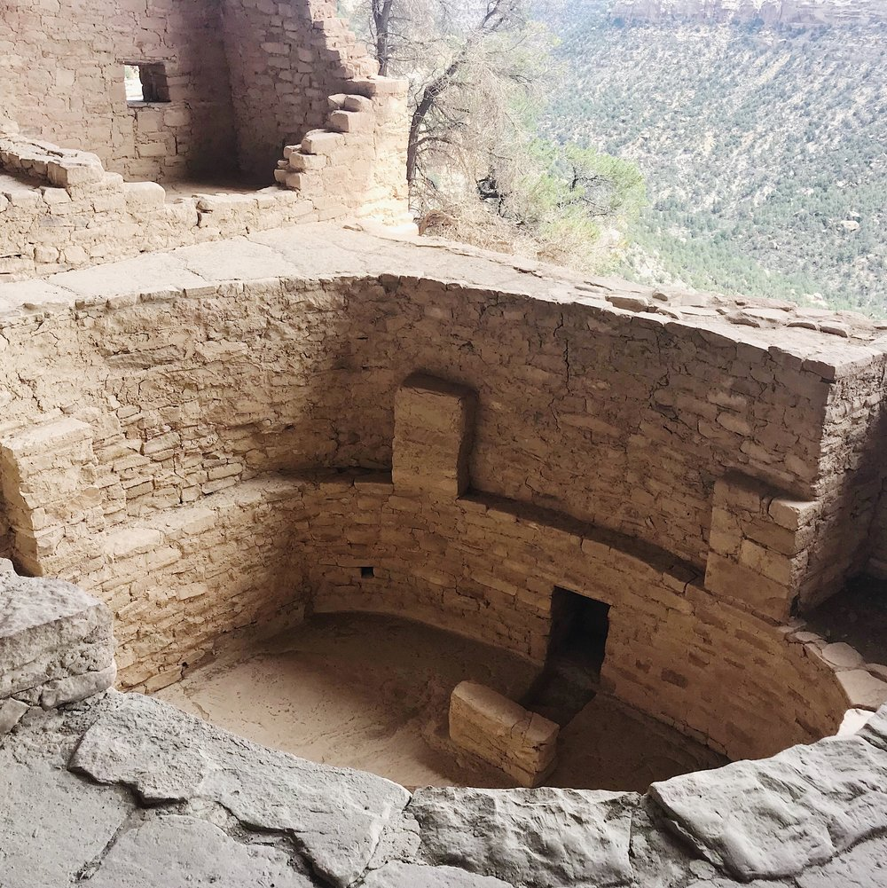 One of the Kivas at Balcony House.
