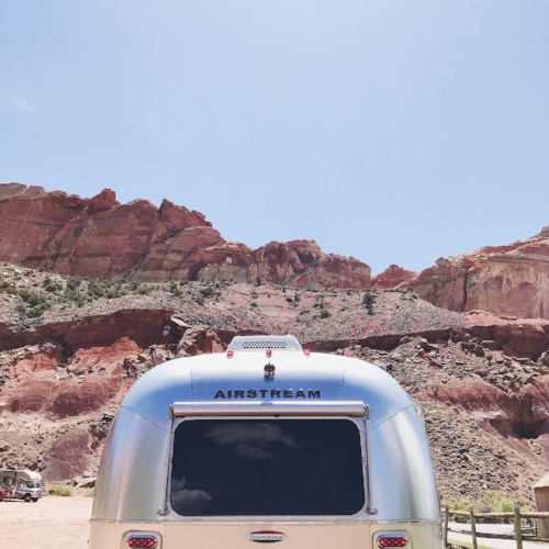 Impromptu stop at Capitol Reef National Park!