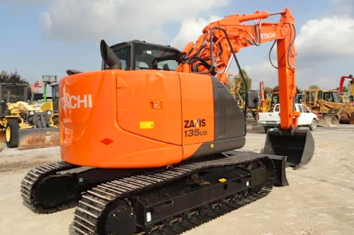 ZX 135U-5B - Hitachi crawler excavator