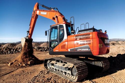DX 225 LC 5 - Doosan crawler excavator