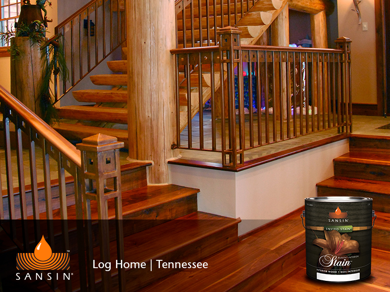 Tennessee Log Homes_Stain.jpg