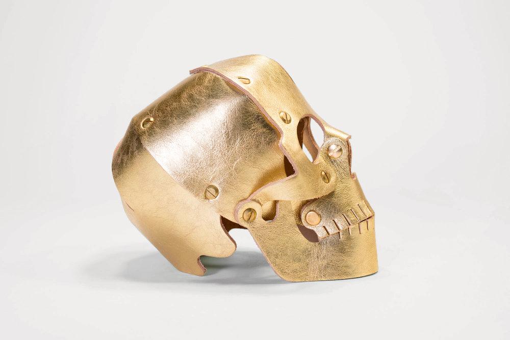 Barney's Leather Skull