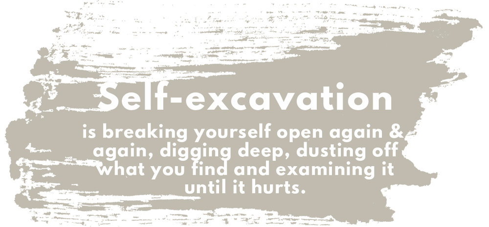 definition of self-excavation
