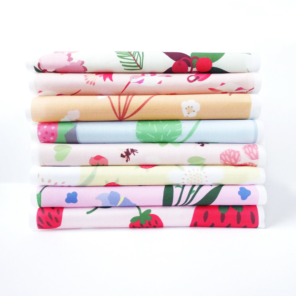 Minnesota Wildflowers - A nature-lover's collection of fabric and wrapping paper.