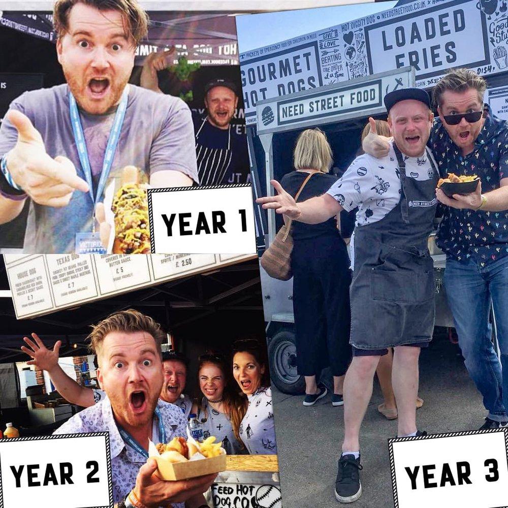 Bob Berridge Need Street Food Victorious Festival