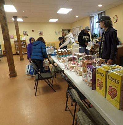 All Are Welcome - Our food pantry is open every Saturday from 10-11 AM and serves at our West campus at 15 South Avenue, Beacon, NY 12508. Come to the door on the bottom floor at the south-west corner of the building, closest to the large parking lot along highway 9-D.If you would like to donate to our food pantry, we accept financial donations at any time. We are also open for food donations every Friday from 10-11 AM. Non-perishable items such as shelf stable milk, cereal, pasta and canned foods are most useful, but you can also donate frozen food and fresh produce. Please contact us at our email at the bottom of this web page if you would like to donate. Thank you for your generosity and support!