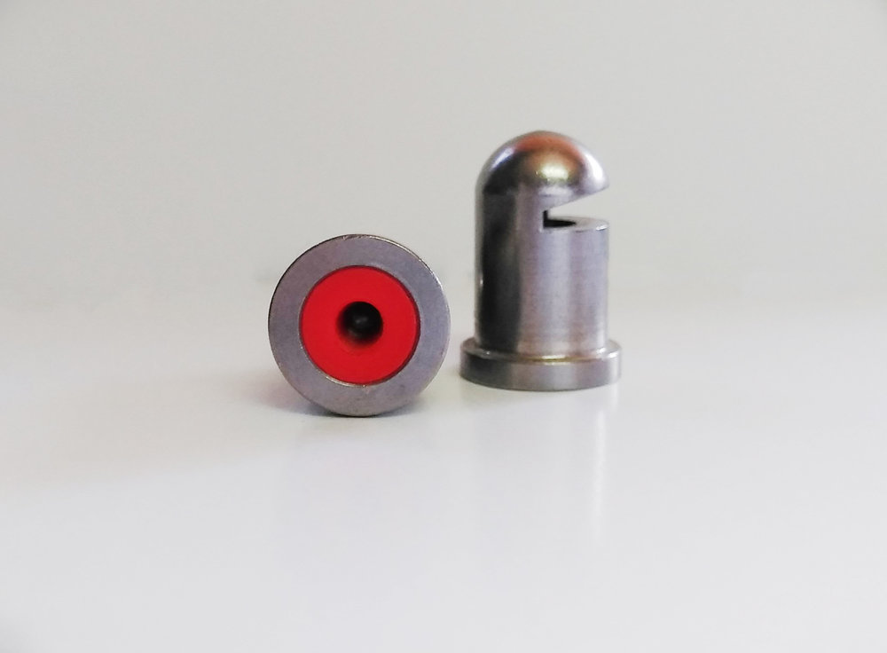 Red Bullet Tips spray at 1.2 GPM when using 40 PSI