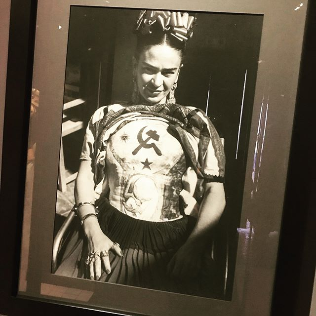 """I am not sick. I am broken. But I am happy to be alive as long as I can paint."" #fridakahlo  mexico city is wonderful, y'all. Directing, making, doing, believing. Happy 2019."