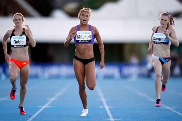 2014 Australian Championships 400m finish