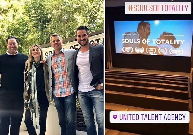 Recently Souls of Totality had it's first Academy Screening and luncheon at the UTA Talent Agency in Beverly Hills! It was a wonderful event and we all felt so blessed to share our film with members of @theacademy — Here's Director Richard Raymond and producers John Trefry, James Mitchell & Nousha Raymond before the event kicked off!