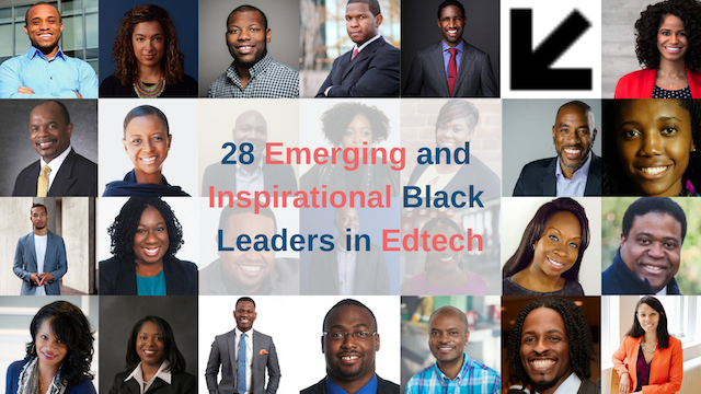 28 Emerging and Inspirational Black Leaders in Edtech