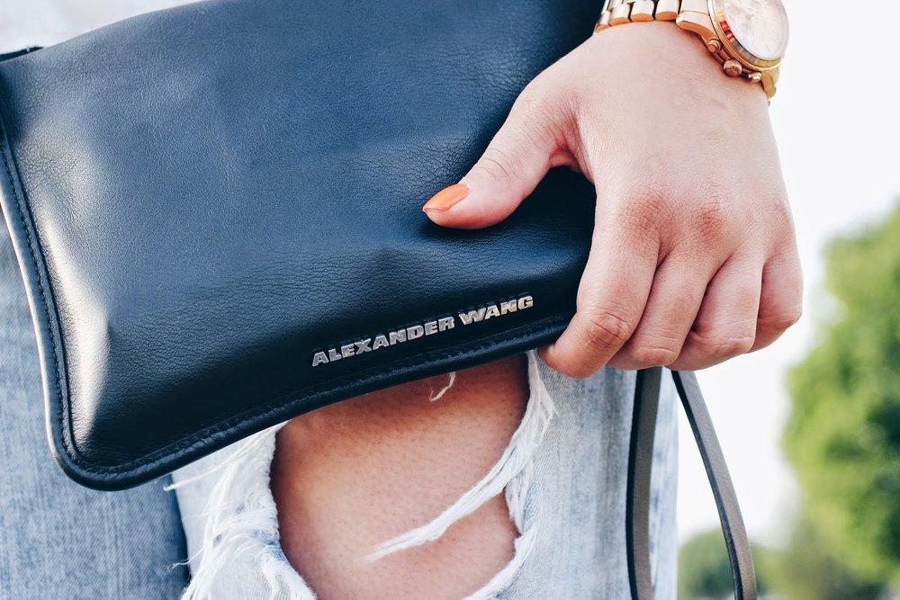 alexander wang clutch