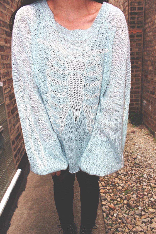 Wildfox White Label Pfeiffersweater