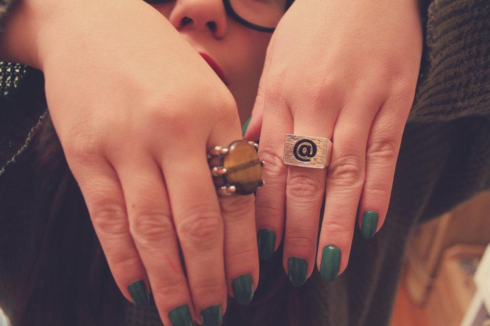 Rings from Nastygal