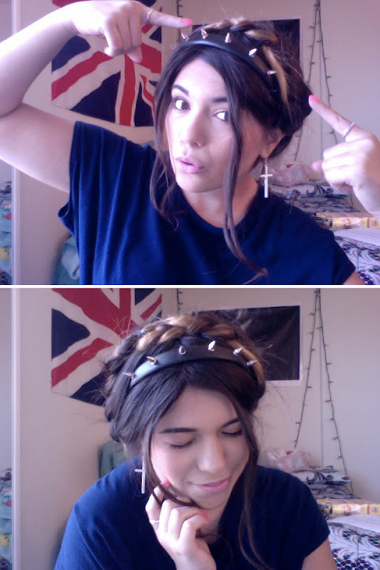 forever 21 spiked headband