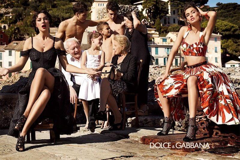 dolce and gabbana spring '12 collection